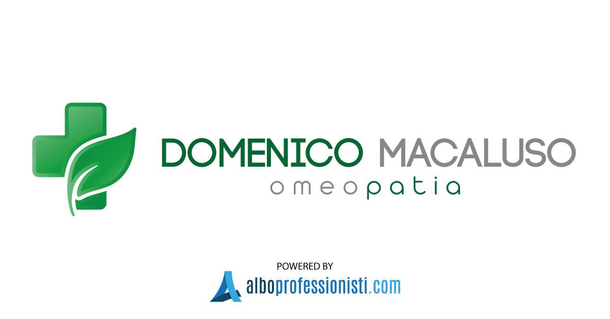 Omeopata Dott. Domenico Macaluso - Palermo