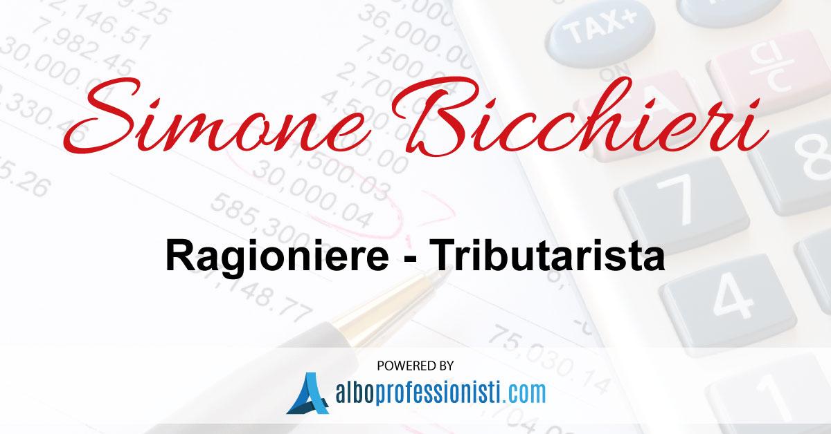 Ragioniere e Tributarista Simone Bicchieri