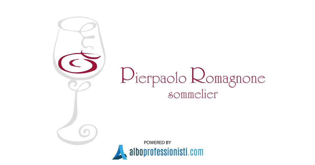 Sommelier di servizio Pierpaolo Romagnone - Genova